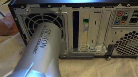 HP Computer Won't Power On (Flashing Green Light On Back