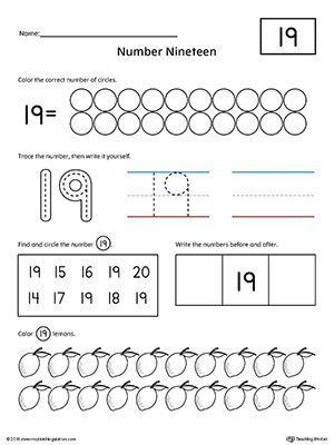 number  practice worksheet preschool number worksheets