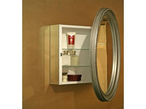 Recessed Medicine Cabinet With Mirror by Cabinet Amp Shelving Choosing The Oval Medicine Cabinet
