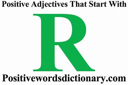 Adjectives Positive Start Positivewordsdictionary Found