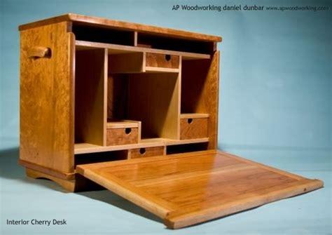 hand  secretary field desks  ap woodworking