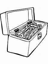 Coloring Pages Tool Tools Printable Boys Coloringhit sketch template