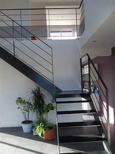 Escalier Metal Prix : escalier 1 4 tournant en m tal bois ~ Edinachiropracticcenter.com Idées de Décoration