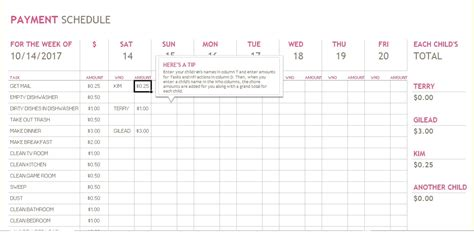 bill payment schedule template 5 bill payment schedule template pdf word excel tmp