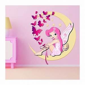 Sticker Chambre Bebe : stickers chambre b b petite f e et papillons exceptionnel ~ Melissatoandfro.com Idées de Décoration