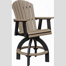 Swivel Bar Height Chair  Comfo Back