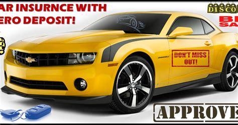 These states are arizona, california. Cheap No Deposit Car Insurance Policy, Low Deposit, Zero ...