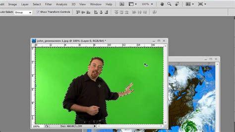 green screen  photoshop chroma key youtube
