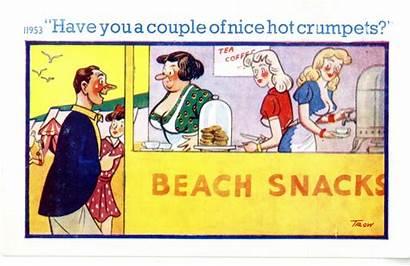 Saucy Postcards Postcard Bother 1957 Ramsey Retailer