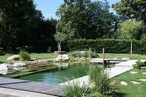 piscine naturelle haute savoie baignade biologique With ordinary jardin paysager avec piscine 6 creation