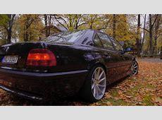 BMW E38 730d Vossen Wheels YouTube