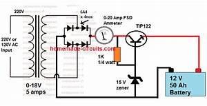 Figure 5 12 Volt Battery Charger Circuit With Lm317