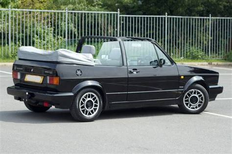 1990 vw mk1 golf gti cabriolet black sold car and classic