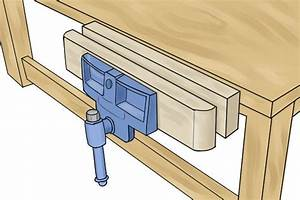 How to secure a bench hook in a vice