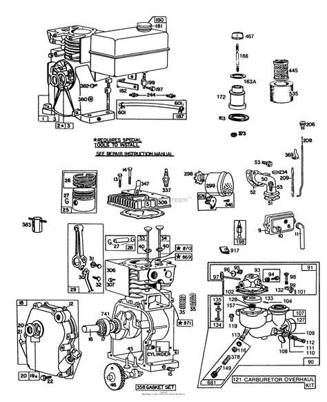 hp briggs  stratton engine manua auto electrical wiring diagram