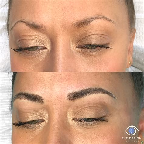 eyebrow microblading custom eyebrow design ny eye