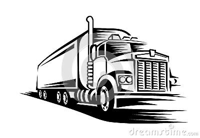 moving truck stock vector image