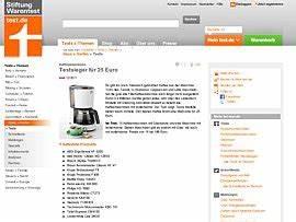 Kaffeemaschinen Stiftung Warentest Testsieger : kaffeemaschinen von stiftung warentest gepr ft bester ~ Michelbontemps.com Haus und Dekorationen