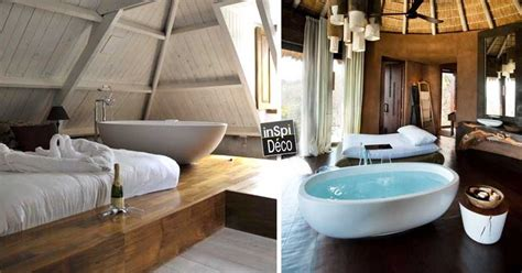 chambre avec dans la chambre une baignoire dans la chambre à coucher 26 exemples