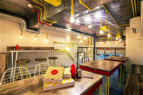 best places for interior design renesa designs pizza restaurant in new delhi india