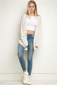 Jeans knee cut cute cute outfits cute jeans nice nice outfit girly girly outfits tumblr ...