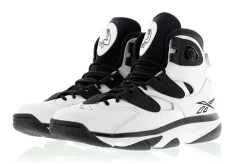 Top 10 Reebok Shaq Attaq Colorways Kicksonfire Com Reebok Shaq Attaq Iv White Black Sneakernews Com