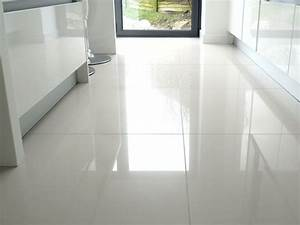 large white kitchen floor tiles we put shiny white tiles With how to clean white tile floors
