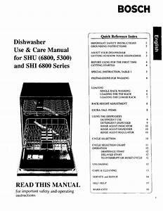 Dishwasher Photo And Guides  Bosch Dishwasher Operation Manual