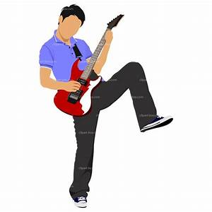 Guitar Player Clipart - Cliparts.co