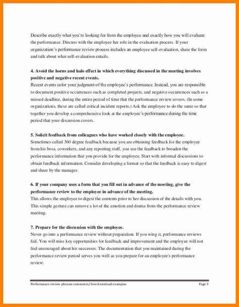 10 self performance review exles how to make a cv