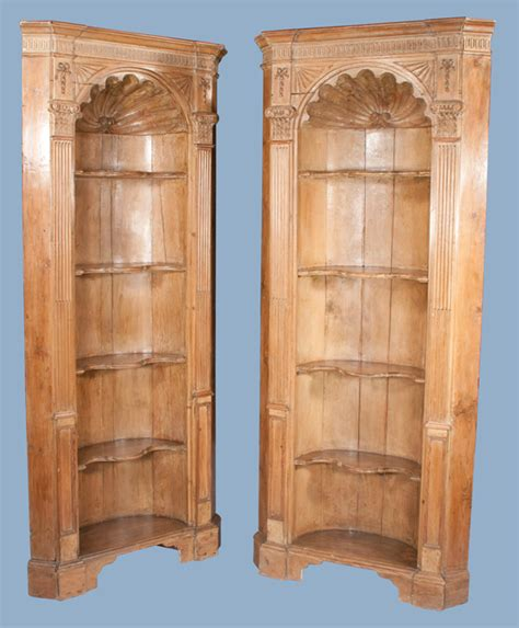 Pine Corner Cupboards by Pickwick Antiques And Antiques