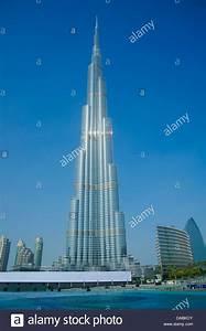 Burj Khalifa torre, a 828m de la torre más alta del mundo