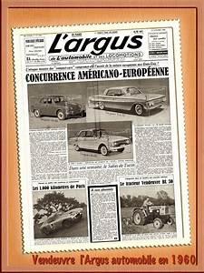 Auto Journal Argus : documents d 39 archives ~ Maxctalentgroup.com Avis de Voitures