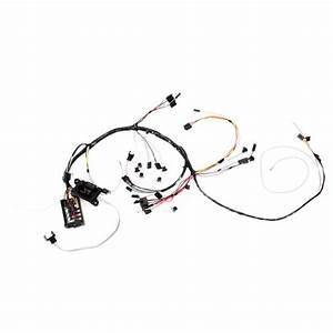 M U0026h Electric 9460 Dash Wiring Harness W  Gauges  1966