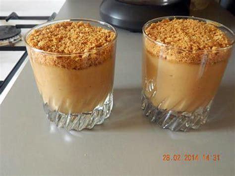 recette dessert avec speculoos recette de verrines de cr 232 me aux sp 233 culoos