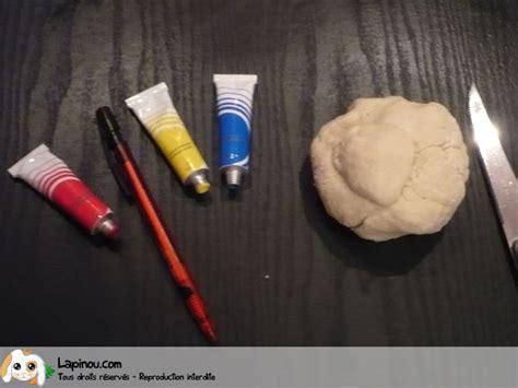 bougeoir en p 226 te 224 sel bricolages pour les enfants sur lapinou