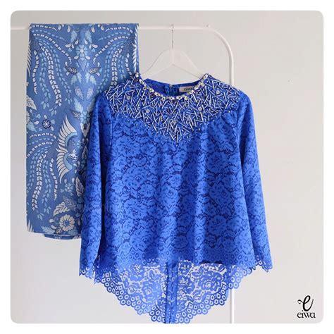 kebaya indonesia modern high    lace brokat