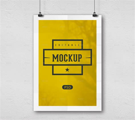 Poster Mockup Poster Mockups By Wecangraphic Graphicriver
