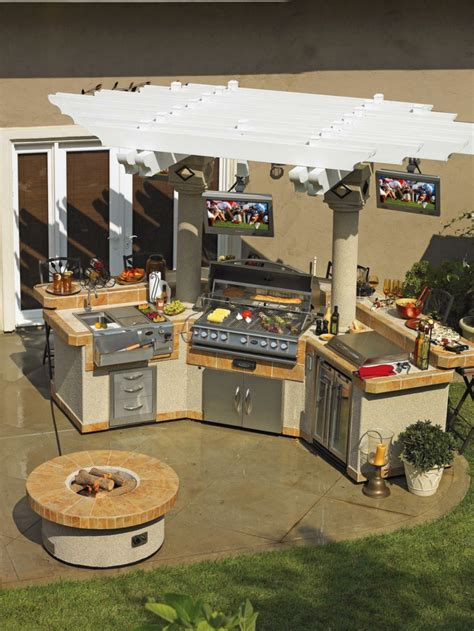 cuisine été extérieure cuisine extérieure été 50 exemples modernes pour se
