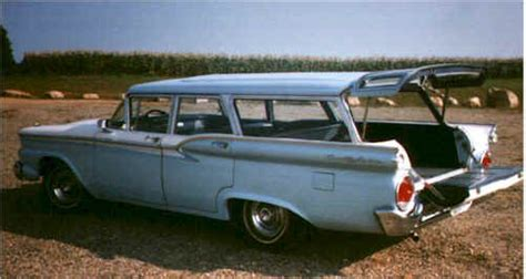 ford usa 1959 country sedan 4door station wagon the 1959 ford country sedan station wagon