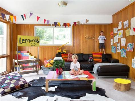 Game Room Basement  Kid Friendly Basement Game Room Hgtv