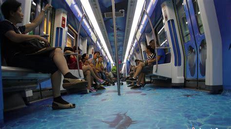 chine bienvenue dans le m 233 tro aquarium