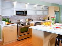 contemporary kitchen cabinets Stock Kitchen Cabinets: Pictures, Ideas & Tips From HGTV ...