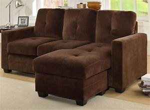 Apartment size sectional sofa for small spaces decorspotnet for Apartment size loveseat
