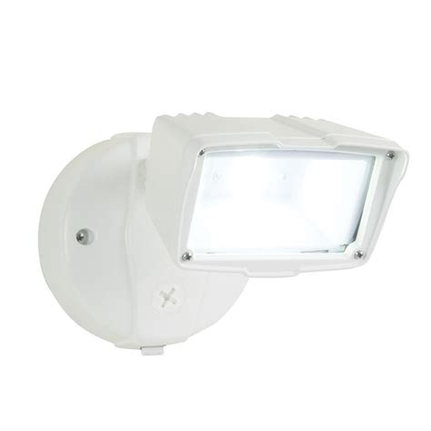 led security light lowes shop utilitech pro 23 watt white led dusk to dawn security