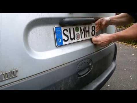 Gta 5 Garage Autos Entfernen by Kennzeichen Entfernen Doovi