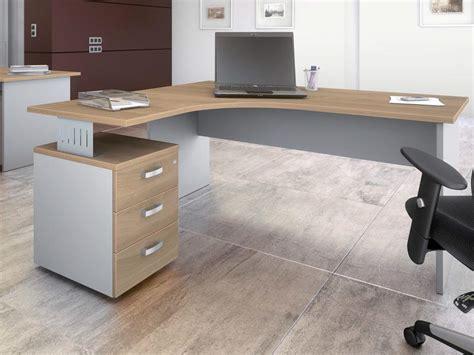 bureau avec caisson bureau avec retour pas cher meuble ferme pour ordinateur