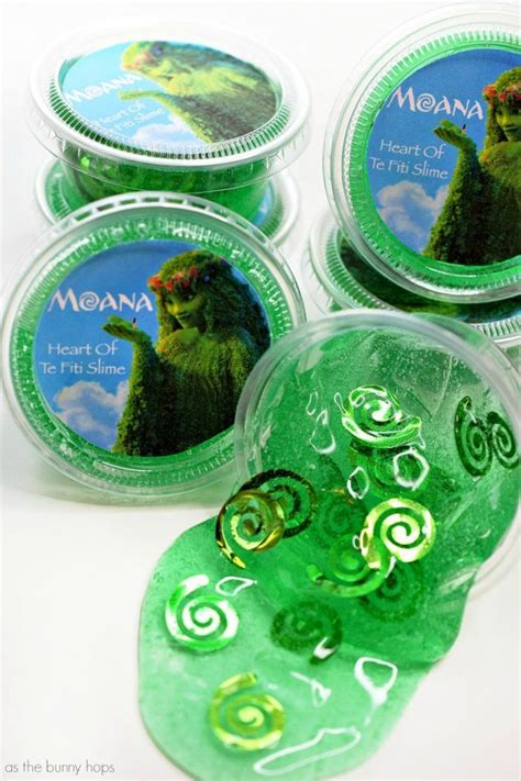heart  te fiti slime party favors  perfect