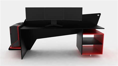 desks for gaming prospec designs a custom made desk for triple 22