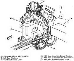 repair anti lock braking 2002 chevrolet venture navigation system repair guides